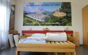 Bett / Ausstellung- Schreinerei Plocher Immenstaad
