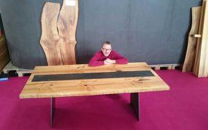 Tisch / Ausstellung- Schreinerei Plocher Immenstaad