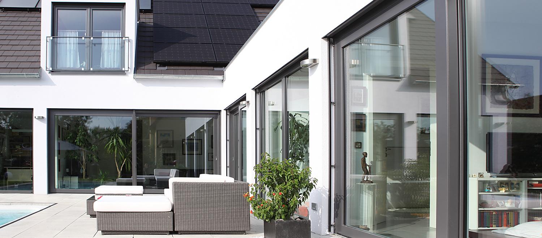 Kunststoff-Fenster und Türen - Schreinerei Plocher Immenstaad