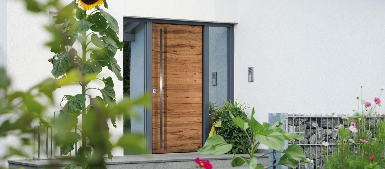 Haustür - Fenster und Türen - Schreinerei Plocher Immenstaad