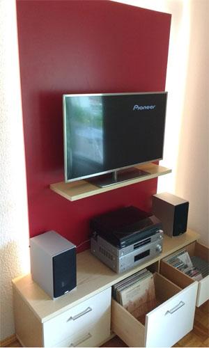tv m bel schreinerei plocher. Black Bedroom Furniture Sets. Home Design Ideas