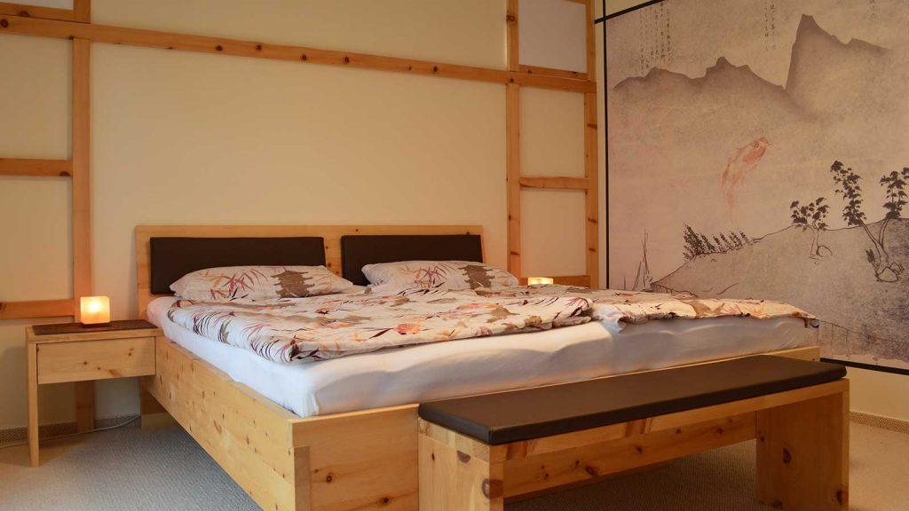 Schlafzimmer im japanischen Stil - Schreinerei Plocher